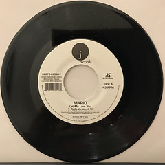 MARIO:LET ME LOVE YOU(RECORD SIDE-A)