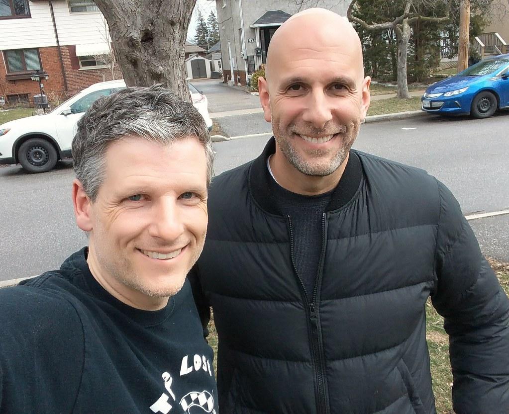 Dan Shulman and me