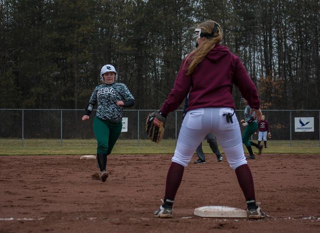 Women's Softball - April 13