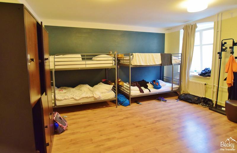East Seven Hostel Berlin dorm room