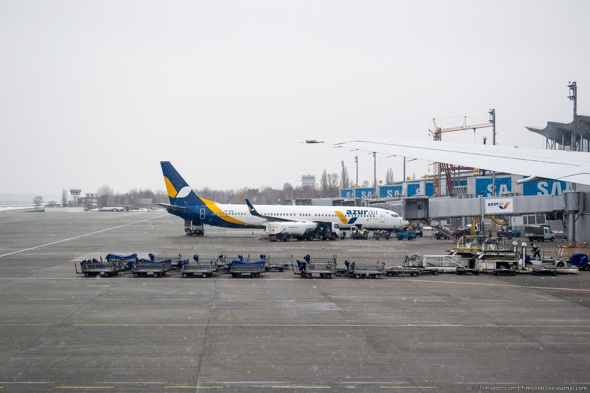 Boeing 777-200ER МАУ во Львове!
