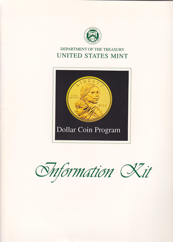 Sacagawea dollar Information Kit