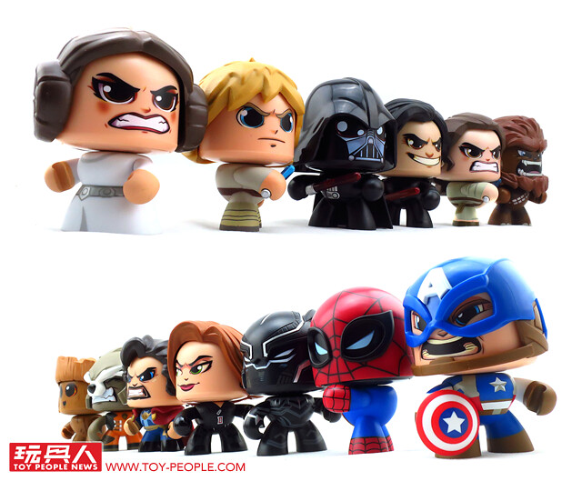 當原力遇到超能力,「MIGHTY MUGGS」再度回歸!!孩之寶「酷頭玩偶」星際大戰 & 漫威超級英雄