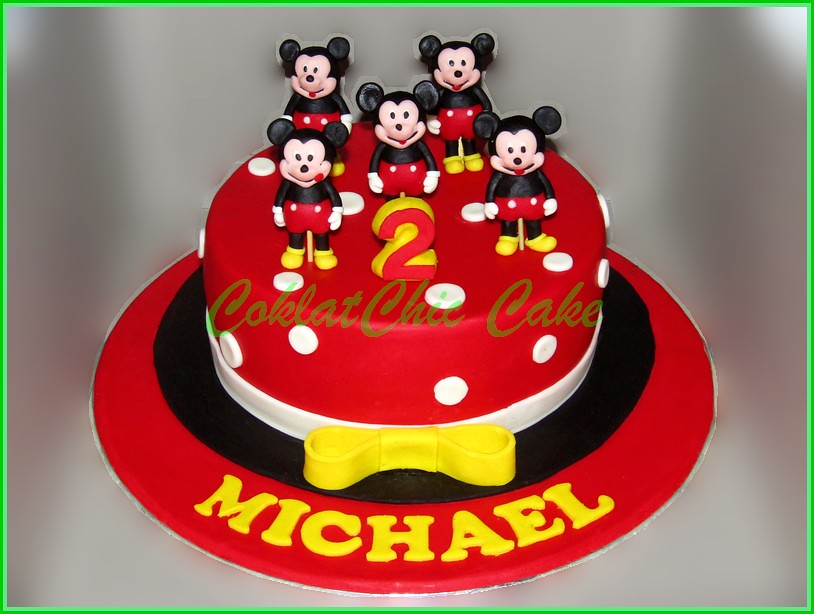 Cake Mickey Mouse MICHAEL 18 cm
