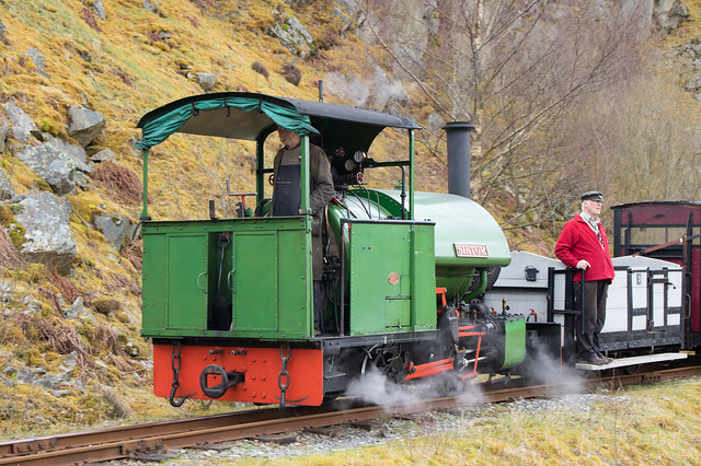 Threlkeld quarry railway 02 apr 18, Canon EOS 750D, Canon EF-S 18-55mm f/3.5-5.6 IS STM