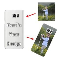 Samsung Galaxy Note 5 - Matte Hard Case - Semi-transparent