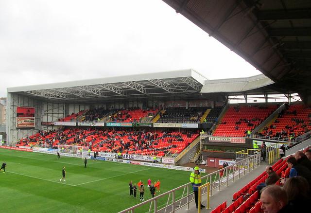 Eddie Thompson Stand,Tannadice Park, Dundee