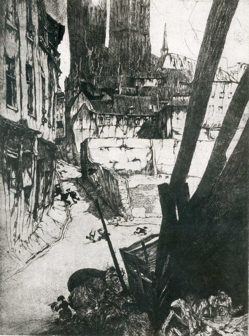 Jules De Bruycker - Ruelle Brussels,  1925