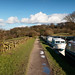 Walking along the Leeds-Liverpool Canal