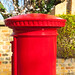 Post box @ the Gardens