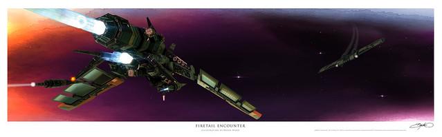 Firetail Encounter Illustration