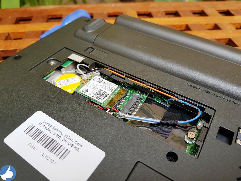 ThinkPad W541 - Trang bị Wifi chuẩn AC và tùy chọn nâng cấp Card WWAN 4GB