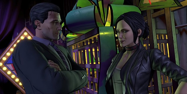 Batman The Enemy Within Episode 5 - Bruce and Selina