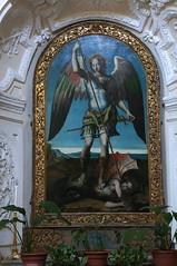 S.Michele Arcangelo che uccide il drago