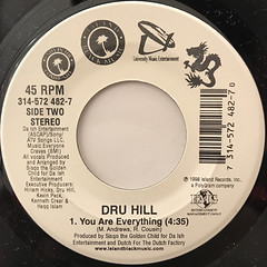 DRU HILL:THESE ARE THE TIMES(LABEL SIDE-B)