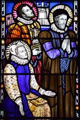 Blessed Anne Lyne, Blessed Robert Southwell, Blessed John Robinson (Margaret Edith Aldrich Rope, 1945)