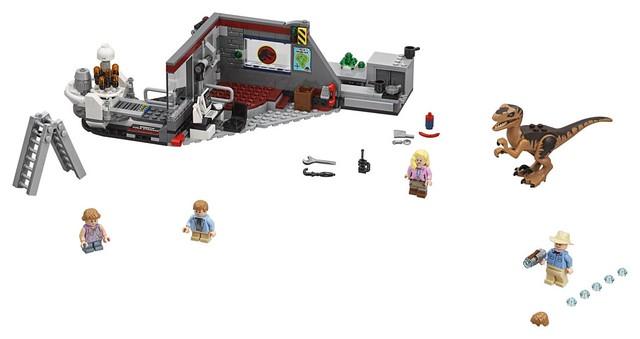 驚險刺激的經典場景樂高化!! LEGO 75931、75932《侏羅紀公園》Jurassic Park 電影盒組