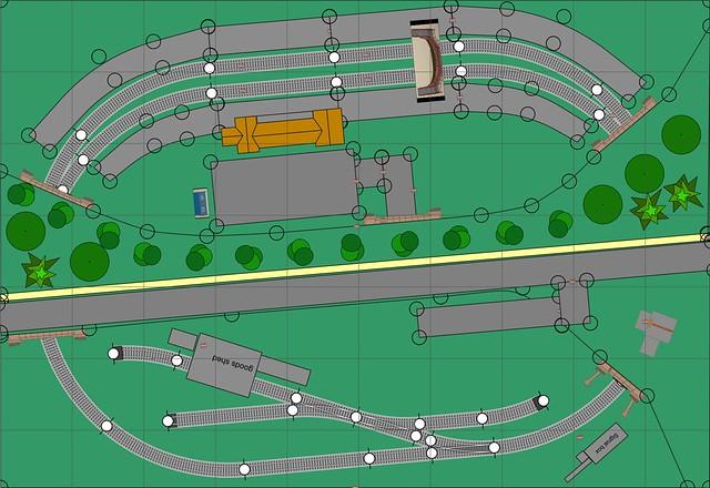 N Gauge 3ft 3in x 2ft 3in Track Plan - Take 2