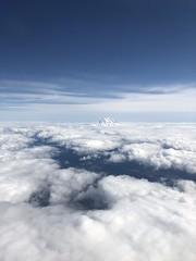 Mt. Rainier from the sky
