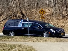 Timothy P. Doyle Funeral Home Cadillac Hearse