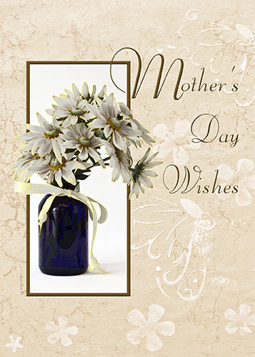 Mothers Day Wishes - Card