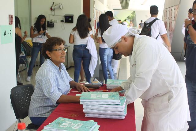 Cuaderno Universitario de la USMP fue repartido a miles de alumnos de nuestra Casa de Estudios
