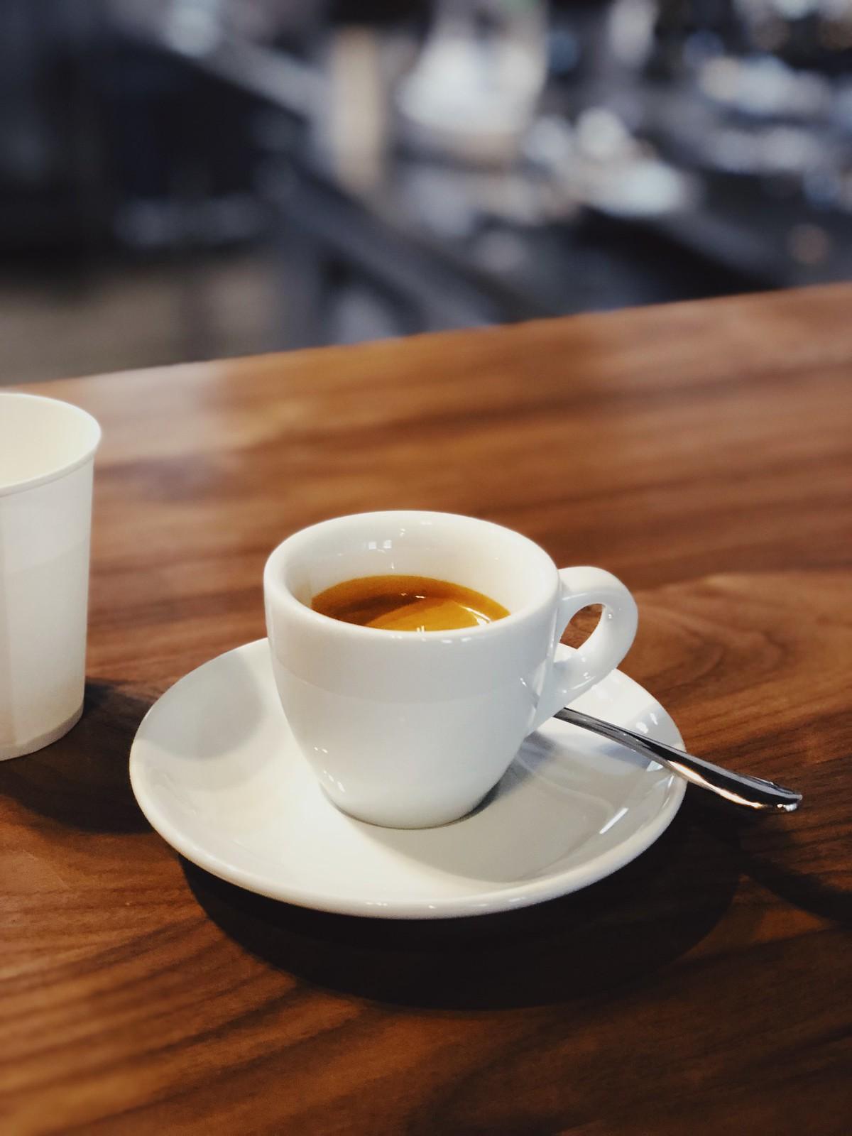 리사르 커피 로스터스의 에스프레소