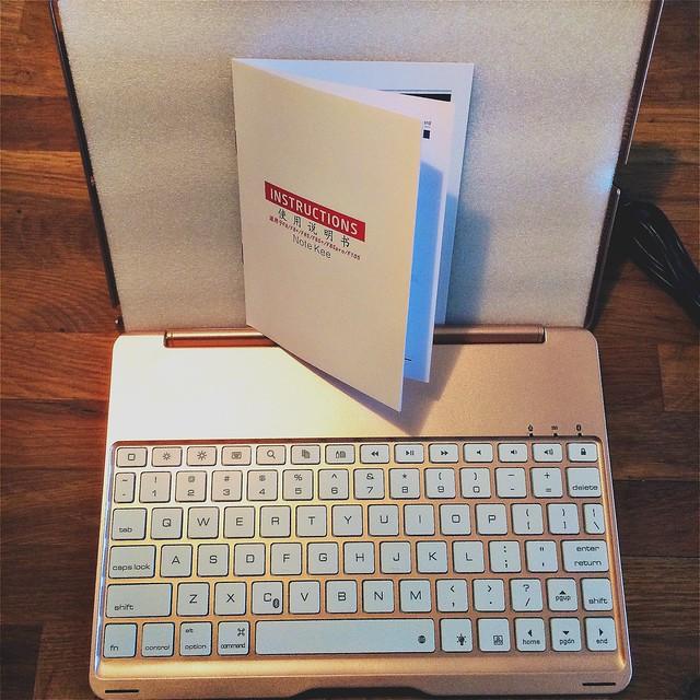 Draadloos toetsenbord voor de iPad