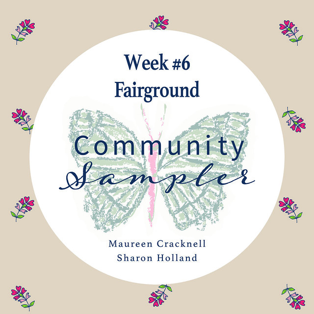 Community Sampler Block No. 7 -- Fairground