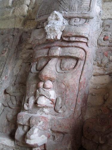Mexico - Kohunlich - Tempio delle maschere