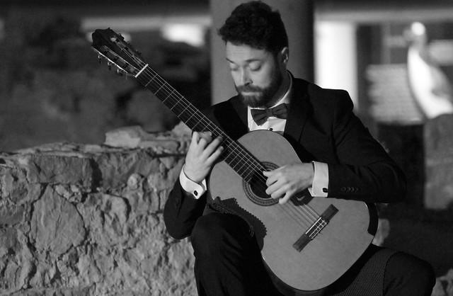 RUBÉN ABEL PAZOS, GUITARRA - CONCIERTO EN LAS TERMAS ROMANAS DE GIJÓN 29.3.18