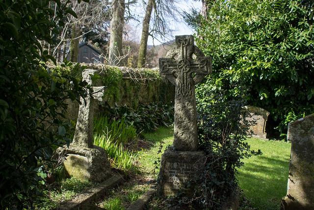 Sarah Pearce & William Knight memorials, Loders Churchyard
