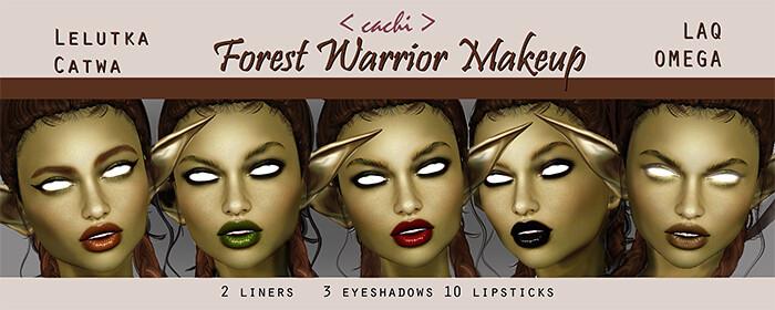 Forest Warrior Makeup - TeleportHub.com Live!