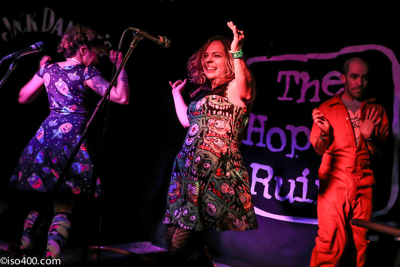 Daphne and Celeste at the Brighton Hope 30th Mar 2018 pic by mike burnell-1714