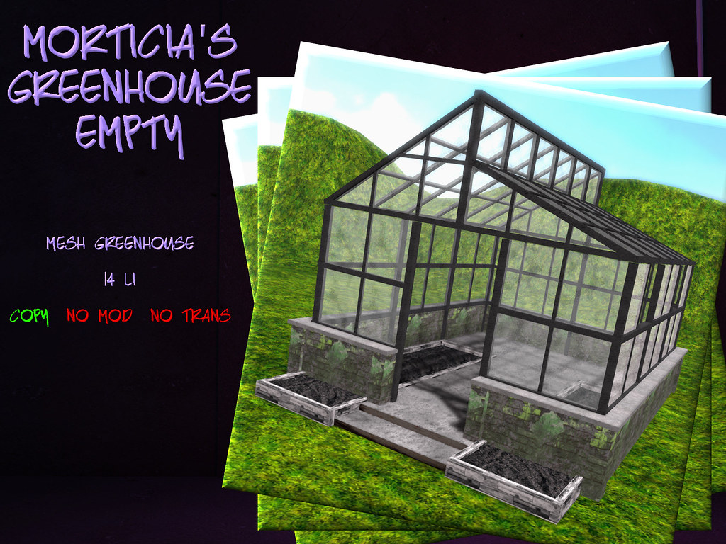 +FH+ Morticia's Greenhouse Empty