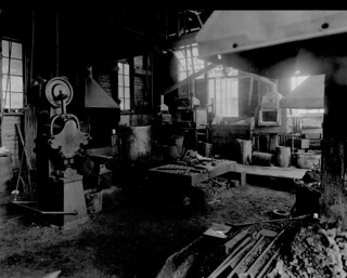 Blacksmith Shop, Bawden Machine Co Ltd., Toronto, Ontario / Forge, Bawden Machine Co Ltd., Toronto (Ontario)