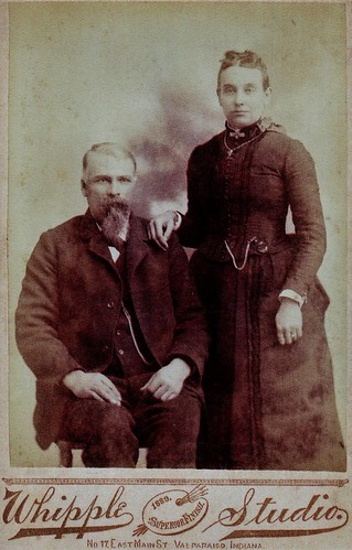 Sylvester & Mary Mereness Casbon 1889