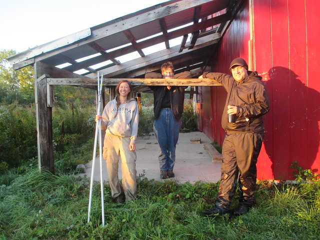 River Point Bird Observatory - Volunteers and Interns