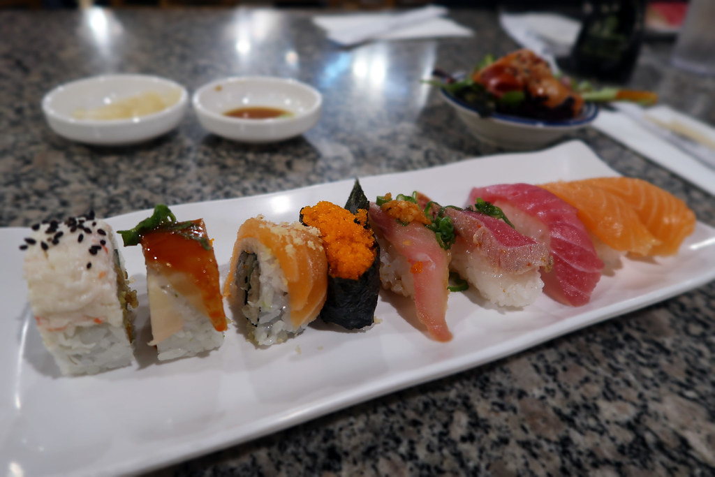 All-you-can-eat sushi buffet