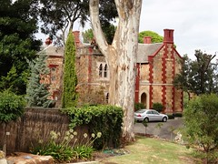 Adelaide. Stonyfell.Clifton Manor house. Built in 1852. Gothic battlements added in 1870s.