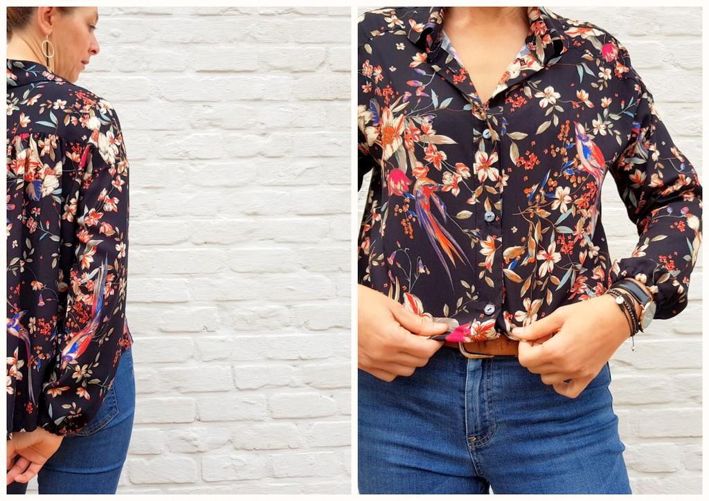 flower blouse 7