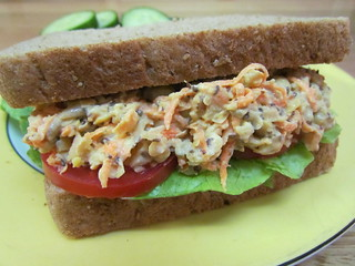 Chicky Tuna Salad Sandwiches