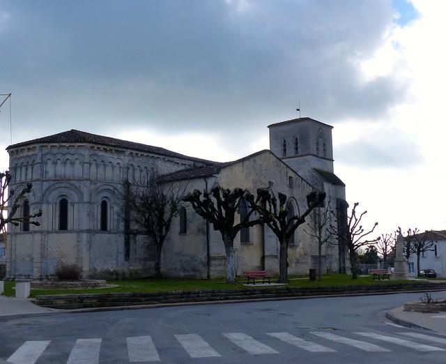 Rioux, Charente-Maritime: église Notre-Dame