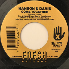 HANSON & DAVIS:COME TOGETHER(LABEL SIDE-A)