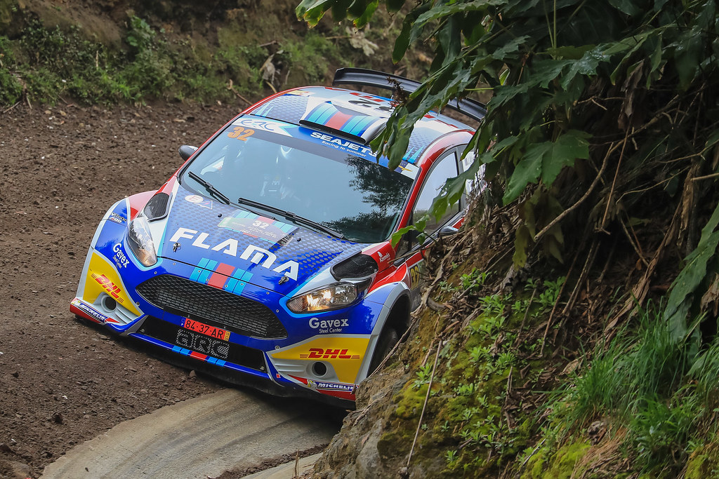 32 ALVES Joaquim (prt), EIRO Sancho (prt), FORD FIESTA R5, action during the 2018 European Rally Championship ERC Azores rally,  from March 22 to 24, at Ponta Delgada Portugal - Photo Jorge Cunha / DPPI