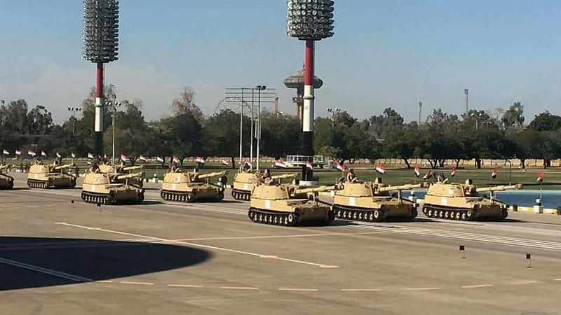 155mm-M109A5-parade-iraq-2017-inlj-2