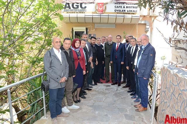 AGC - Alanya Gazeteciler Cemiyeti protokol üyelerini ağırladı -3