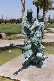 Vietnamese Boat People Monument (2009), Westminster Memorial Park