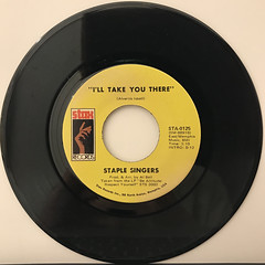 STAPLE SINGERS:I'LL TAKE YOU THERE(RECORD SIDE-A)