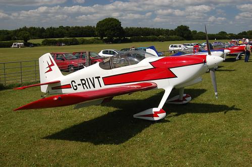 G-RIVT Vans RV-6 (PFA 181-12743) Popham 140609